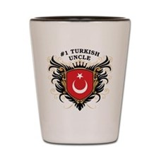 Number One Turkish Uncle Shot Glass