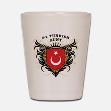 Number One Turkish Aunt Shot Glass