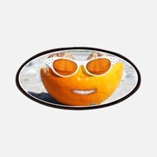 Beached Orange fun in the sun Patches