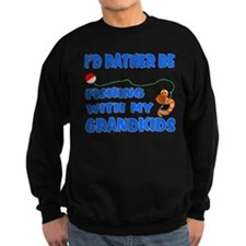 Rather Be Fishing With Grandk Sweatshirt