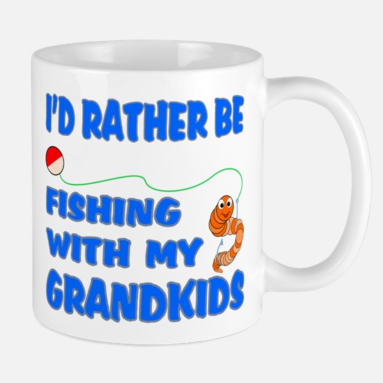 Rather Be Fishing With Grandk Mug