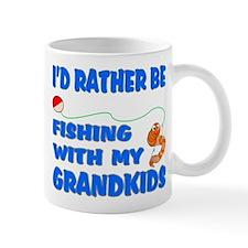 Rather Be Fishing With Grandk Mug