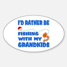 Rather Be Fishing With Grandk Decal