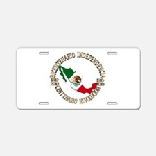 Unique Orgullo Aluminum License Plate
