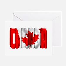 Cute Calgary canada Greeting Card