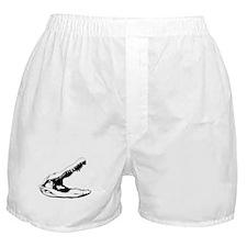 Alligator Skull Boxer Shorts