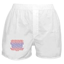 Fifty States Boxer Shorts