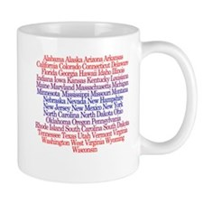 Fifty States Mug