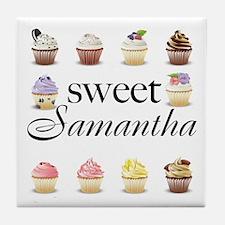 Sweet Samantha Tile Coaster