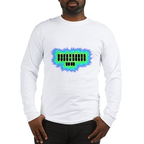 FUNKY STENO KEYBOARD Long Sleeve T-Shirt