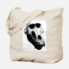 Baboon Skull Tote Bag