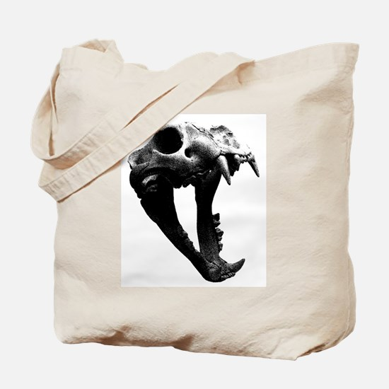 Lion Skull Tote Bag