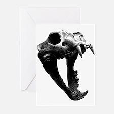Lion Skull Greeting Cards (Pk of 10)
