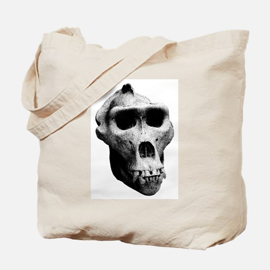 Lowland Gorilla Skull Tote Bag