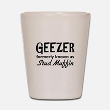 Geezer Shot Glass