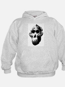 Orang Utan Skull Hoodie