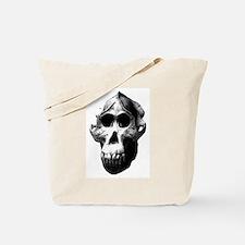 Orang Utan Skull Tote Bag
