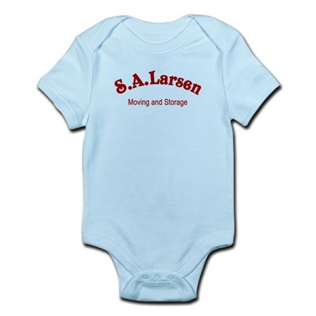 S.A. Larsen Moving and Storage Infant Bodysuit