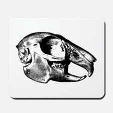 Rabbit Skull Mousepad