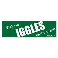 Iggles Bumper Bumper Sticker