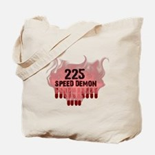225 SPEED DEMON Tote Bag