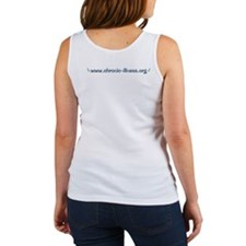 Blue Rose Chronic Illness Quote Women's Tank Top