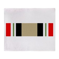 Iraq Campaign Throw Blanket
