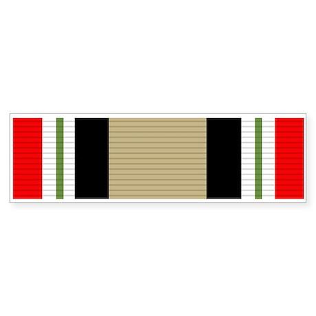 Iraq Campaign Sticker (Bumper)