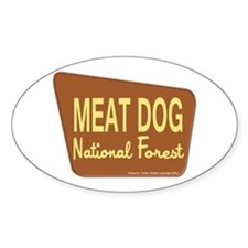 Meat Dog Decal