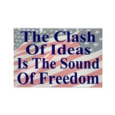 Sound of Freedom Rectangle Magnet