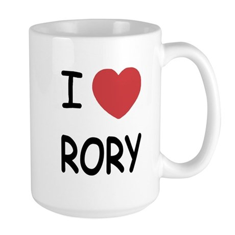 I heart rory Large Mug
