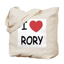 I heart rory Tote Bag