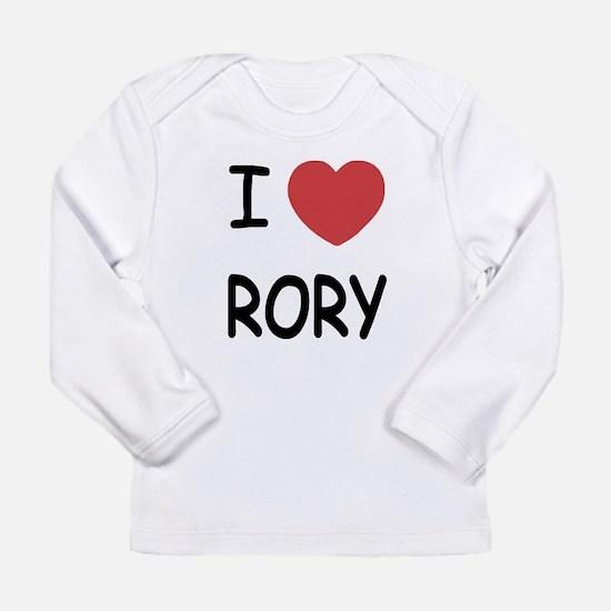 I heart rory Long Sleeve Infant T-Shirt