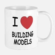 I heart building models Mug