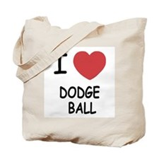 I heart dodgeball Tote Bag