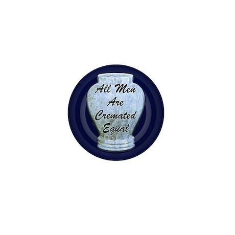 Cremated Mini Button