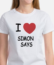 I heart simon says Tee