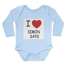 I heart simon says Onesie Romper Suit