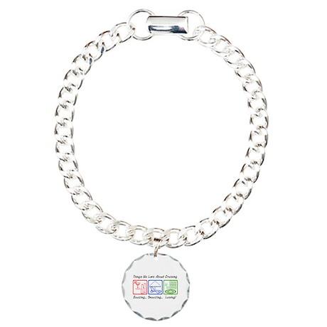 Boozing, Snoozing... Charm Bracelet, One Charm