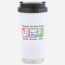 Boozing, Snoozing... Travel Mug