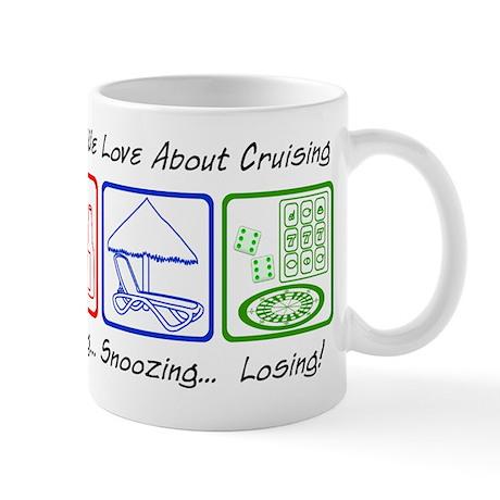Boozing, Snoozing... Mug