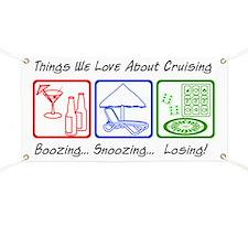 Boozing, Snoozing... Banner