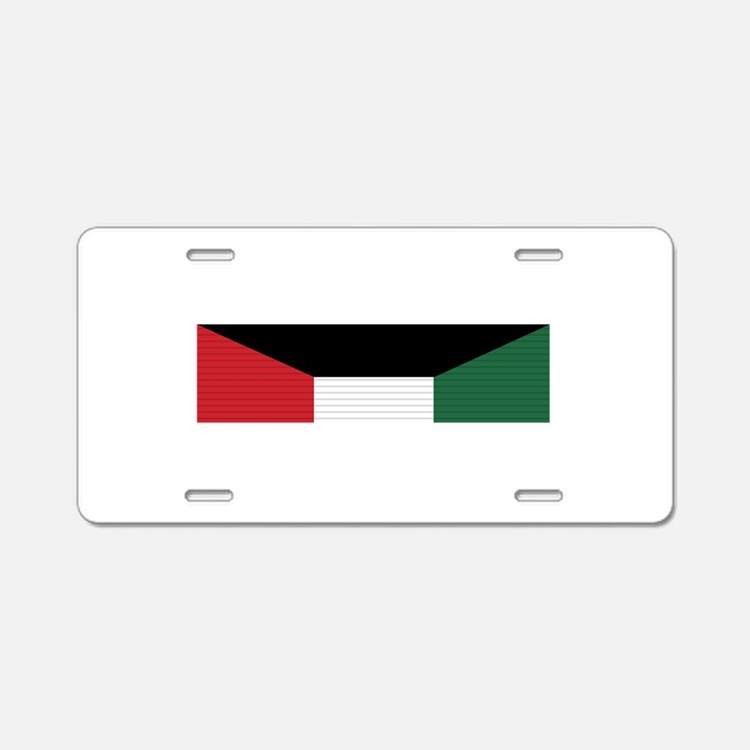 Kuwait Liberation Aluminum License Plate