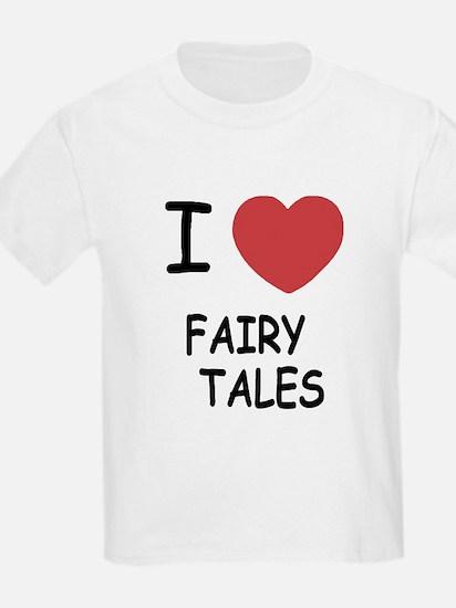I heart fairy tales T-Shirt