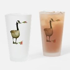 Canada Goose Rose Drinking Glass