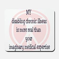 Chronic Illness Quote Mousepad