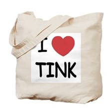 I heart tink Tote Bag