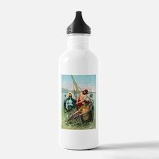 Jesus Fishing Water Bottle