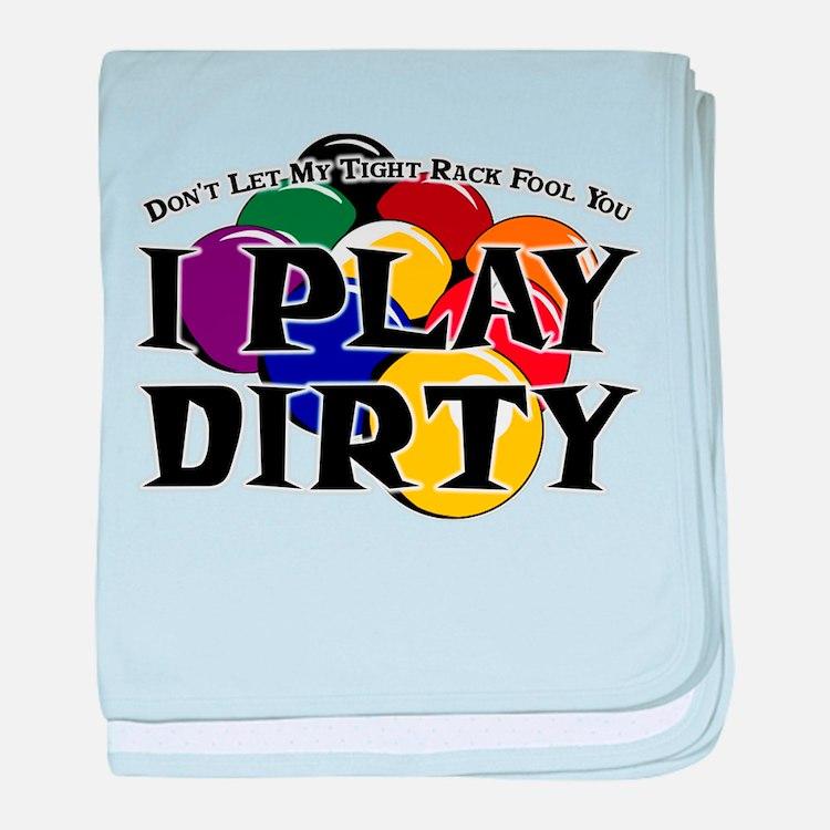 Dirty 9-Ball baby blanket