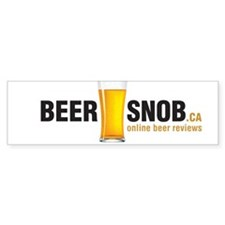 Cute Beer snob Bumper Sticker